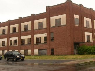 Developers have submitted preliminary plans for a $1.24 million renovation project for the former Crescent Corset factory building at 165-177 Main St. Syracuse-based developer Housing Visions Unlimited is seeking to transform the property into office and apartment space.