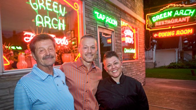 Former Green Arch Restaurant Owner John Michael Discenza Left Stands With New Owners Matt