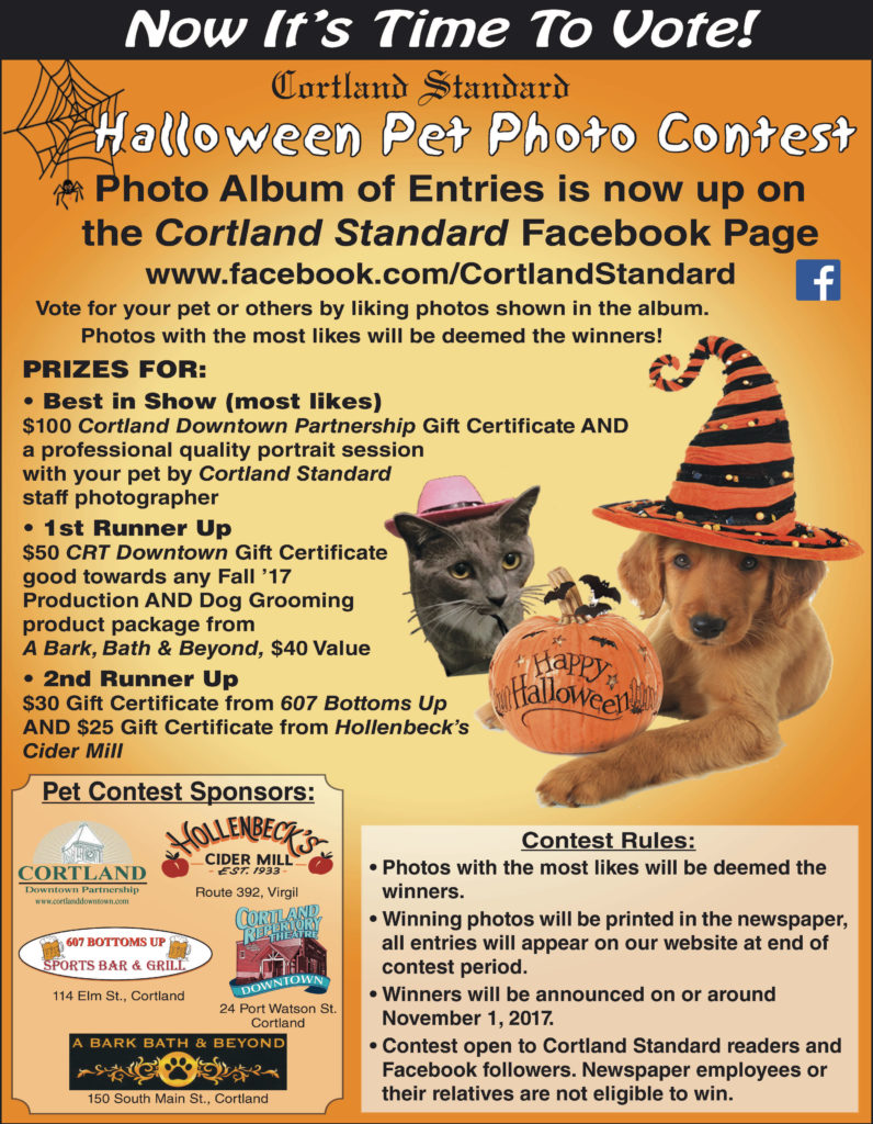 cortland standard's pet costume contest – cortland standard