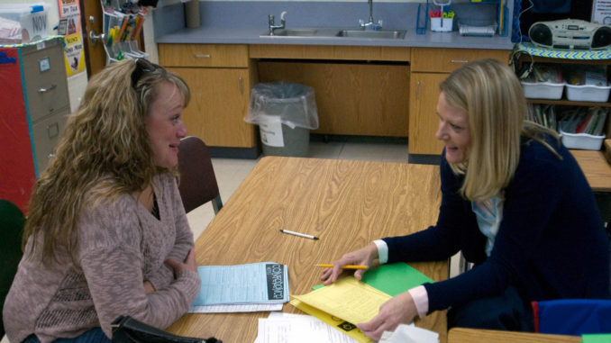 ParentTeacher Conferences Form Partnerships  Cortland Standard