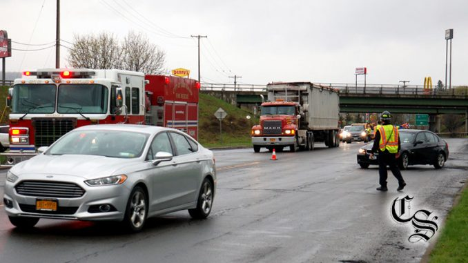 Car accident slows down traffic this morning – Cortland Standard